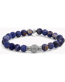 Stonehenge Silver Bracelet