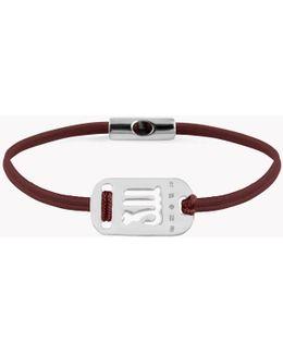 Zodiac Silver Virgo Bracelet