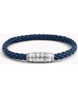 Combination Lock 777 Silver Bracelet