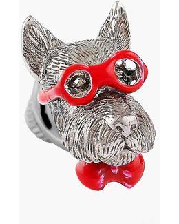 Scottish Terrier Silver Pin