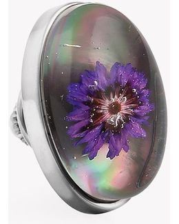 Purple Thistle Pin