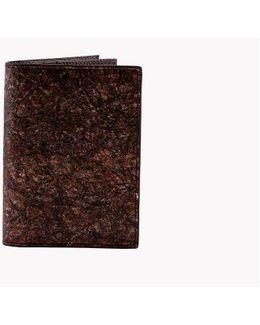 Washi Wallet In Brown - Card Holder