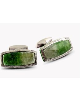 Stones Of The World - Rectangular Silver Tremolite (limited Edition - 2 Pairs)