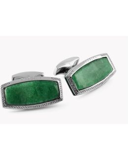 Stones Of The World - Rectangular Silver Variscite (limited Edition - 1 Pair)