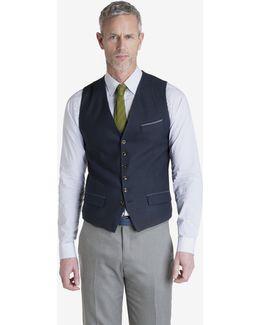 Skiper Textured Waistcoat
