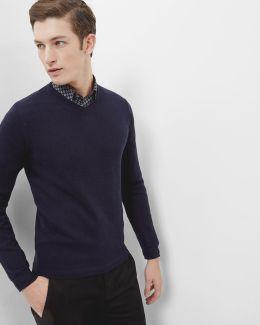 V-neck Cashmere-blend Jumper