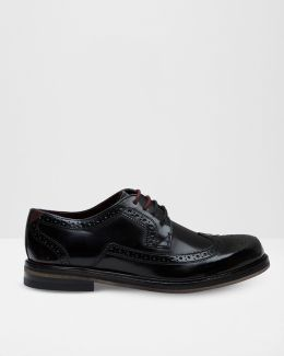 Leather Wingtip Detail Brogues