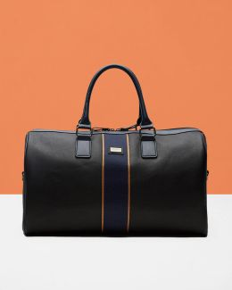 Striped Holdall