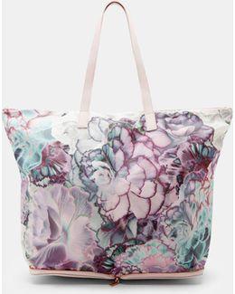 Illuminated Bloom Foldaway Shopper Bag