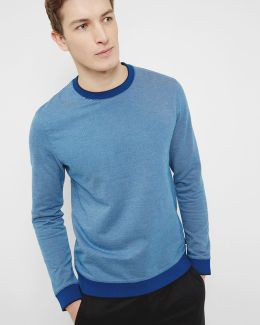 Jax Crew Neck Cotton Jumper