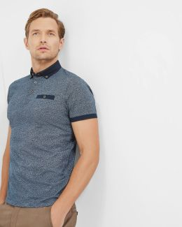 All Over Printed Regular Fit Polo