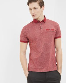 Printed Cotton Polo Shirt