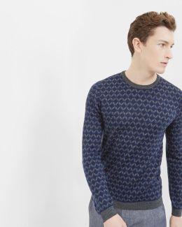 Vince Geo Jacquard Sweater