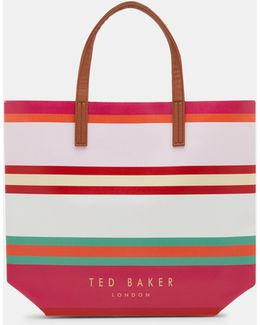 Pier Stripe Large Shopper Bag