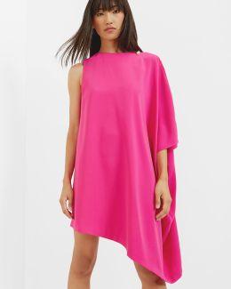 Draped Side Tunic Dress