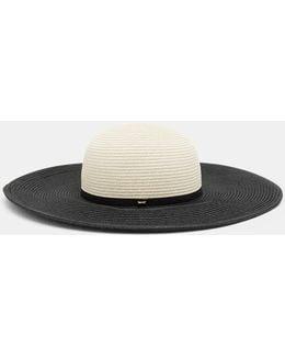 Two-tone Straw Hat
