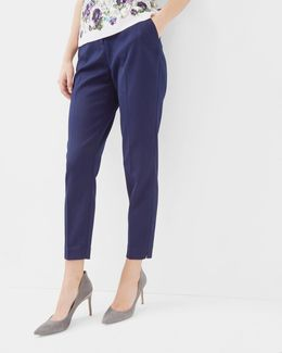 Textured Tapered Pants