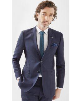 Debonair Checked Wool Jacket