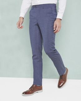 Debonair Wool Trousers