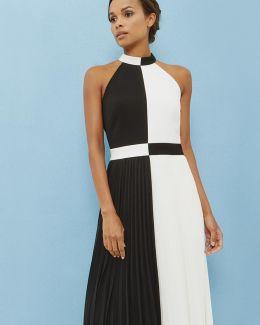 Colour Block Maxi Dress