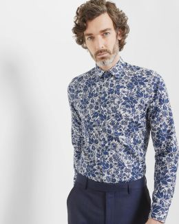 Floral And Paisley Cotton Shirt