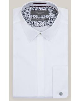 Modern Fit Cotton Dinner Shirt