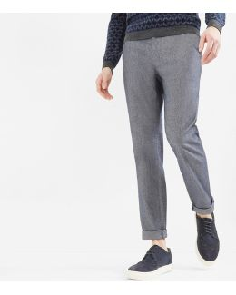 Classic Fit Cotton Trousers