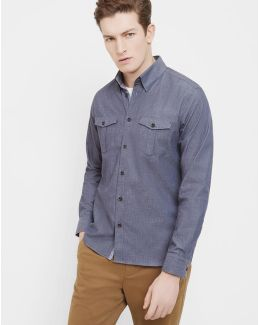 Shacket Slim Fit Shirt