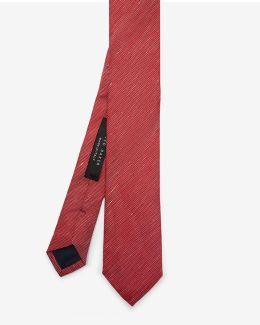 Linen And Silk-blend Tie
