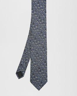 Camouflage Silk Tie