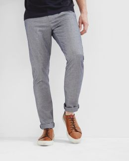 Slim Fit Oxford Trousers