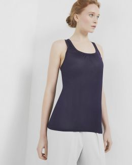 Pleated Detail Cami Top