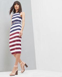 Rowing Stripe Bodycon Dress