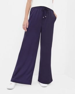 Wide Leg Jogger Trousers
