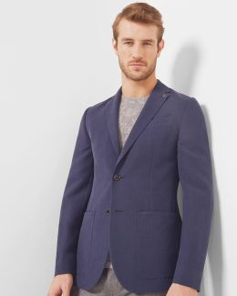 Textured Tencel Jacket