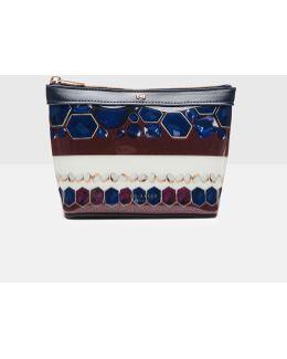 Rowing Stripe Small Wash Bag