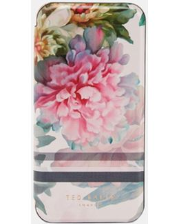 Painted Posie Iphone 6/6s/7 Book Case