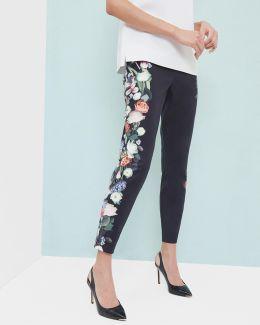 Kensington Floral Ankle Grazer Trousers