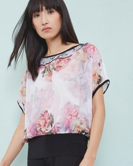 Painted Posie Top
