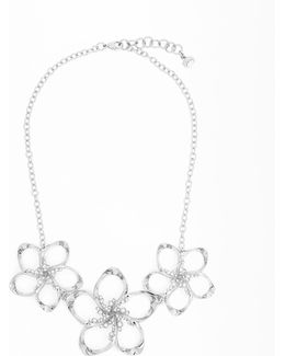 Swarovski Crystal Floral Necklace