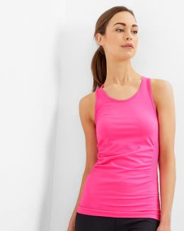 Fitted Seamless Vest Top