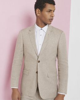 Debonair Linen Jacket