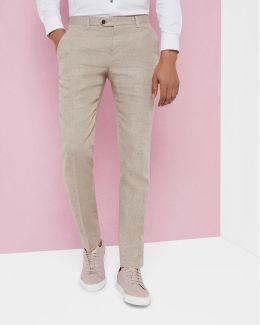 Debonair Linen Trousers
