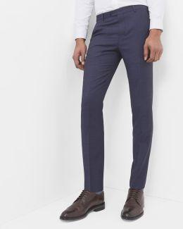 Debonair Fashion Fit Wool Trousers