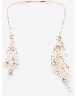 Swarovski Embellished Open Necklace
