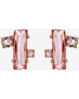 Crystal Baguette Earrings
