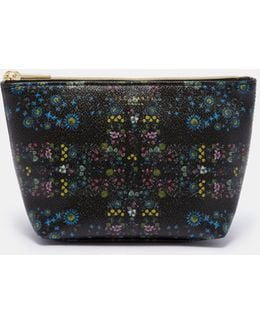 Unity Floral Cosmetic Bag