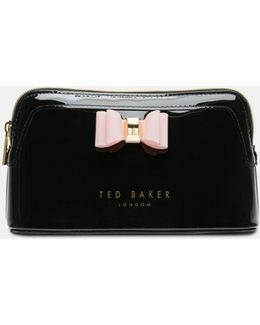 Bow Detail Make Up Bag