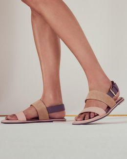 Flat Buckle Sandals