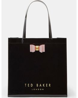 Bow Detail Large Shopper Bag